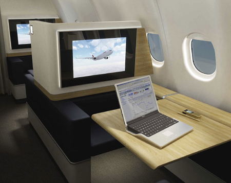 SWISS Air Lines First Class Suite by Priestman Goode