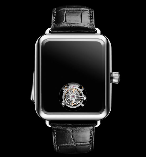 Swiss Alp Watch Concept Black by H. MOSER & CIE.