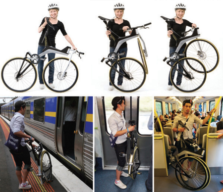 Switch Commuter Bike with Ability to Fold in One Smooth Motion