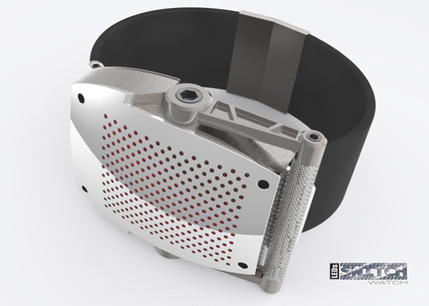 Switch Concept Watch with Crank