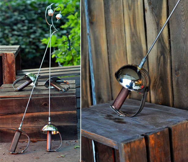 Roasting in Style with Sword Campfire Roaster