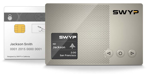 SWYP Card Consolidates All Your Credit Cards Into One Ultra-Thin Metal Card
