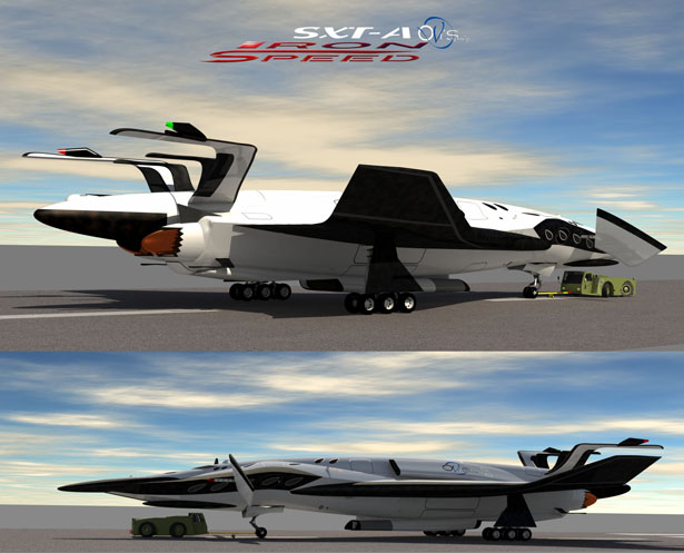 SXT-A Iron Speed Space Tourism by Oscar Vinals
