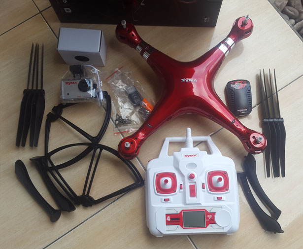 Syma X8HG Drone Hands-on Review: An Affordable Drone with Decent Quality Videos