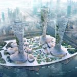 Futuristic Symbiotic Towers Skyscraper Is Specifically Designed and Developed in Response to Dubai's Climatic Conditions