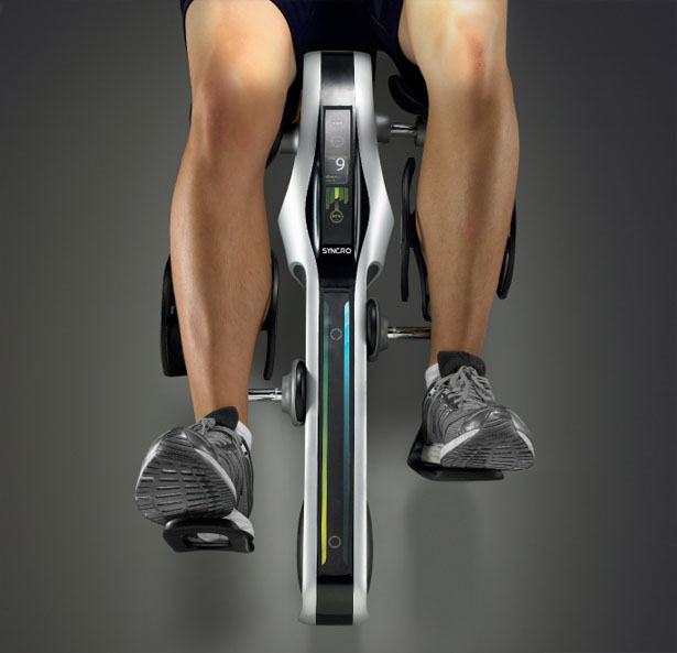 Syncro Post Surgical Knee Rehabilitation Device by James Cha