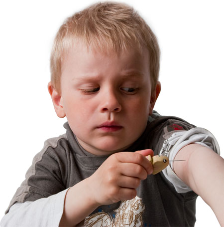 Syrinx Can Reduce The Traditional Fear Of Syringes Among Kids