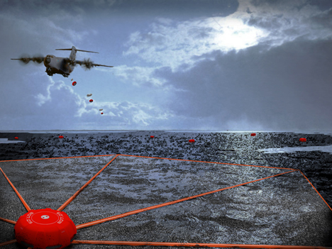 System For Effectively Combating Oil Slick Ensures Fast And Efficient Functionalities