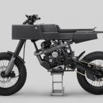 T 005 Cross Motorcycle Features Boxy Shaped Body