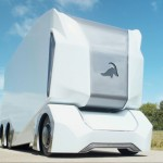 Einride T-pod Electric, Self-Driving Concept Truck Offers All-Electric Range of 124 Miles
