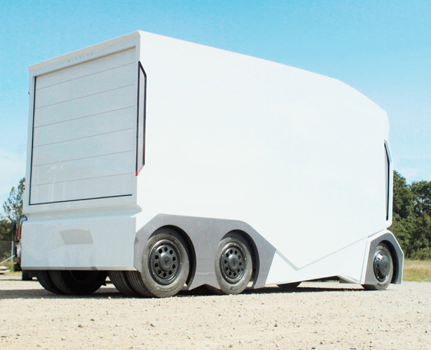 Einride T-pod Electric, Self-Driving Concept Truck