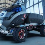 T-Rextor: Modern Agriculture Multipurpose Vehicle Concept by Saharudin Busri
