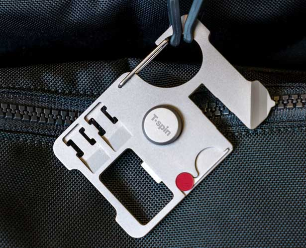 T'spin – Titanium Travel Multi Tool