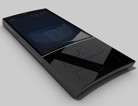 Do You Know That T02 is A Slide Cell Phone ?