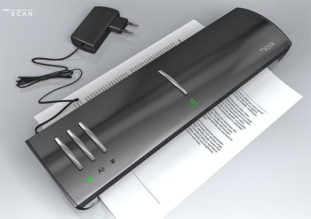 tScan : Sleek and Compact Scanner Concept