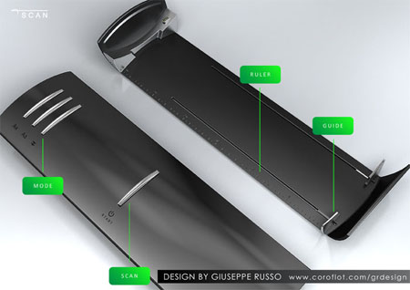 tScan compact scanner concept