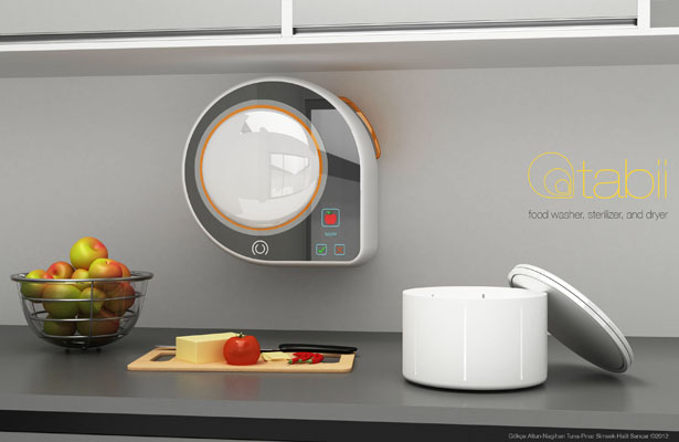 Tabii Food Preparation Unit Is Able to Wash, Sterilize and Dry Your Food