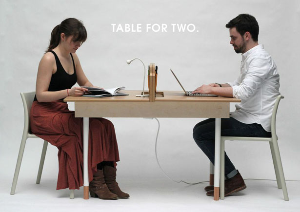 Table for Two by Daniel Liss