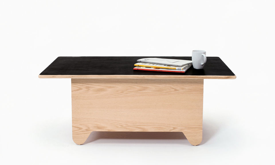 Table Tennis Coffee Table by Huzi Design