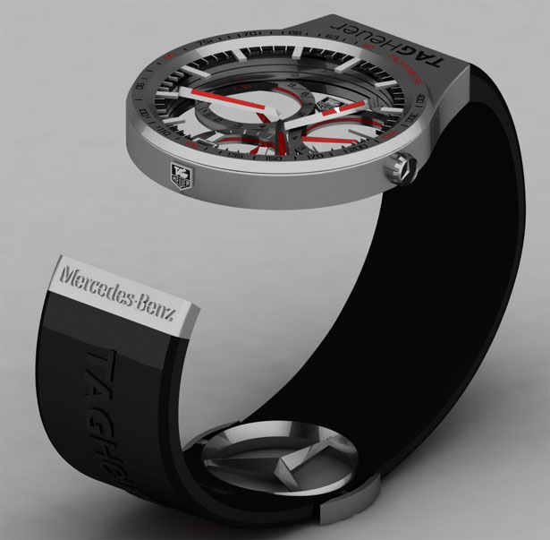 Tag heuer formula 1 watch gives user the same elegance of for Mercedes benz tag heuer watch