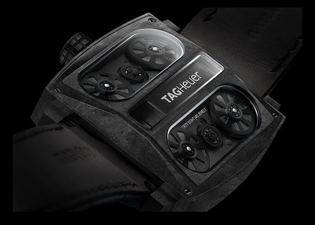 Tag Heuer Monaco V4 Phantom Watch Is Made Out of Entirely Carbon Fiber