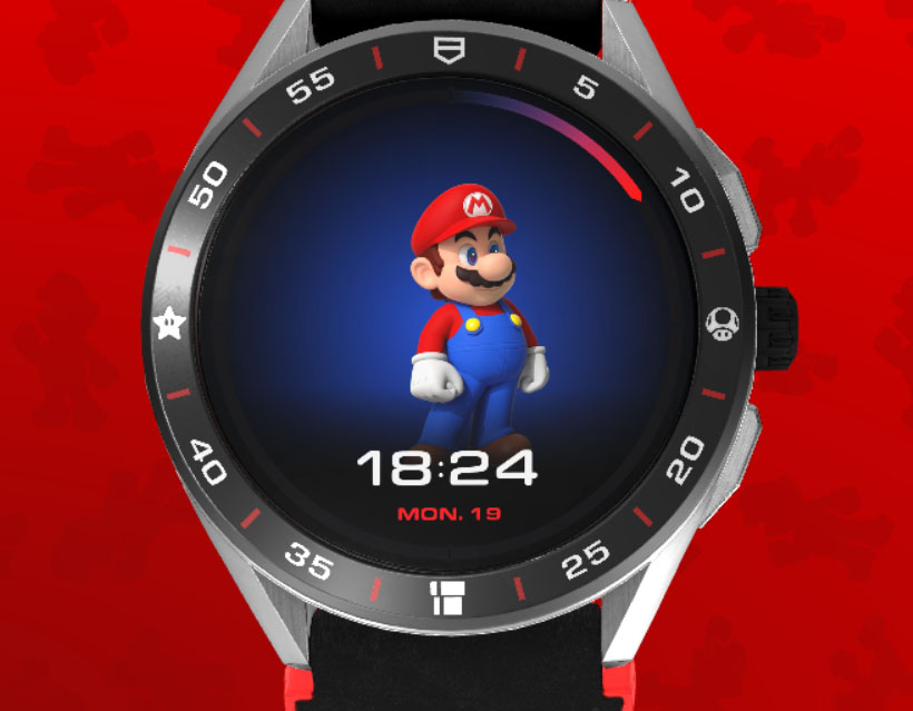 TAG Heuer x Super Mario Connected Limited Edition Watch
