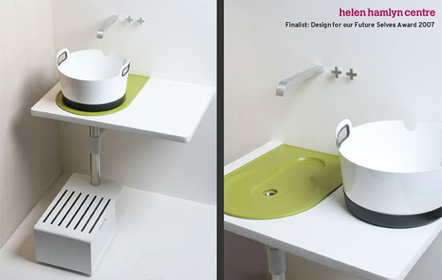 modern take away sink
