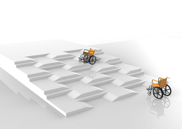 Talasi - Stairs Ramps  for disabled by Snezana Jeremic