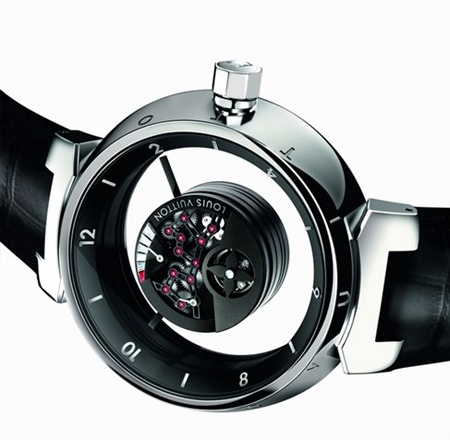 Louis Vuitton Tambour Mysterieuse Luxury Watch