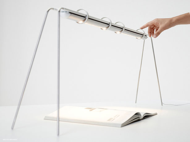 Tangible Light - Rima Lamp by Matthias Pinkert