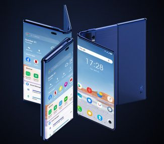 Futuristic TCL Fold 'n Roll Smartphone Concept Can Be Extended Up To 10-inch Tablet