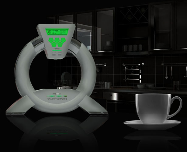 Tea and Coffee Machine by Stas Qlare