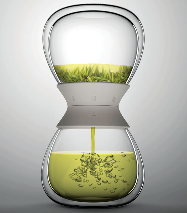 Tea-Time Design Was Inspired by The Hourglass