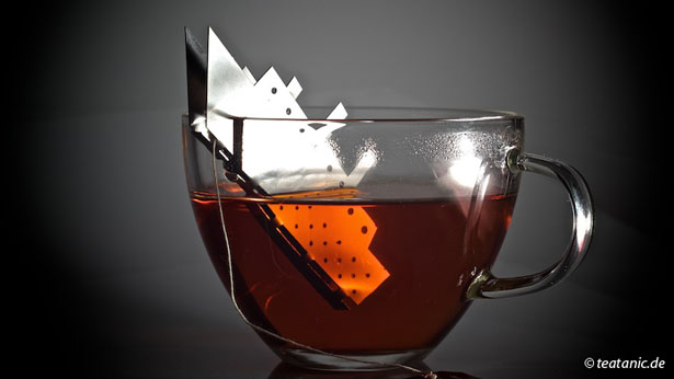 Tea.tanic Tea Bag Holder by Gordon Adler