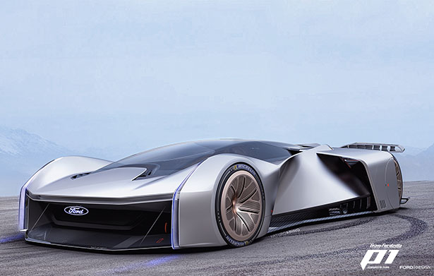 Ford and Gamers Teamed Up to Create Team Fordzilla P1 Virtual Racing Car