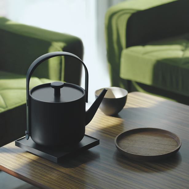 Teawith Kettle Kettle by Keren Hu and Liu Fang