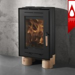 Tek Lumber Wood Stove Was Inspired by Wood Logs and Nature