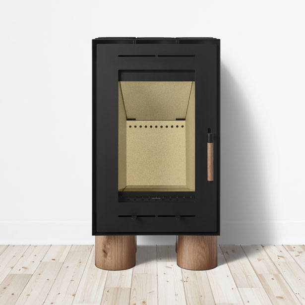 Tek Lumber Wood Stove by Inngage Design