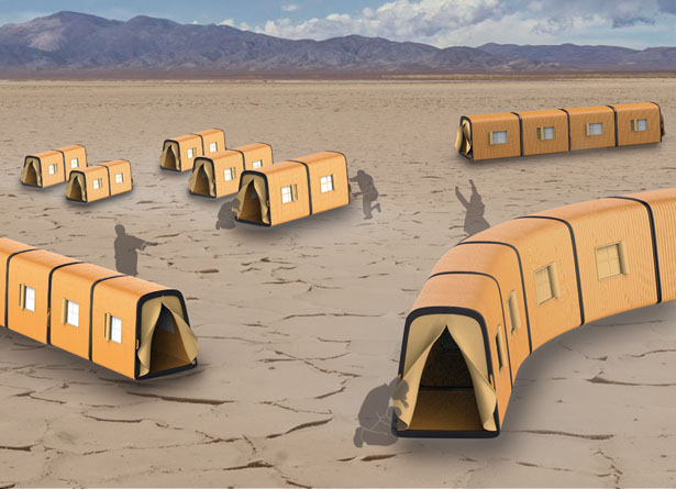Telescopic Tent - Emergency Tent