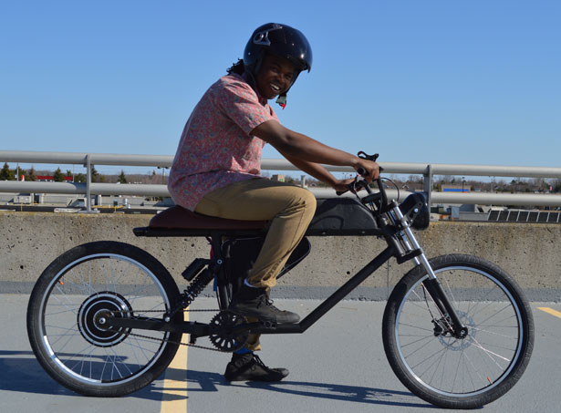 Tempus Electric Bike by Ikenna Ofoha and Xavier Chan
