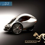 TENNEN Electric Car by Hussien Al Jammazi