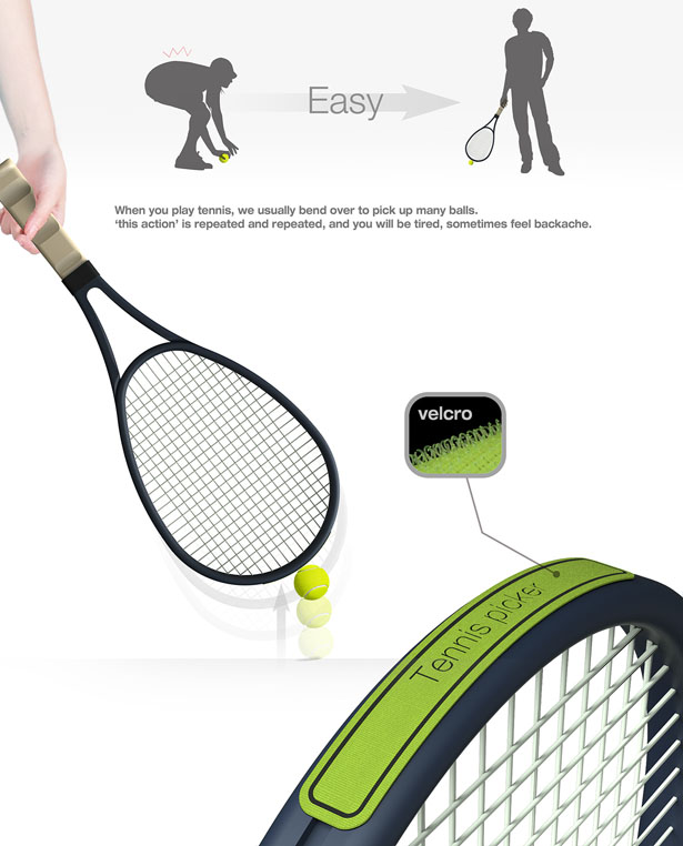 Tennis Picker by Seonghyun Kim and Yunjo Yu