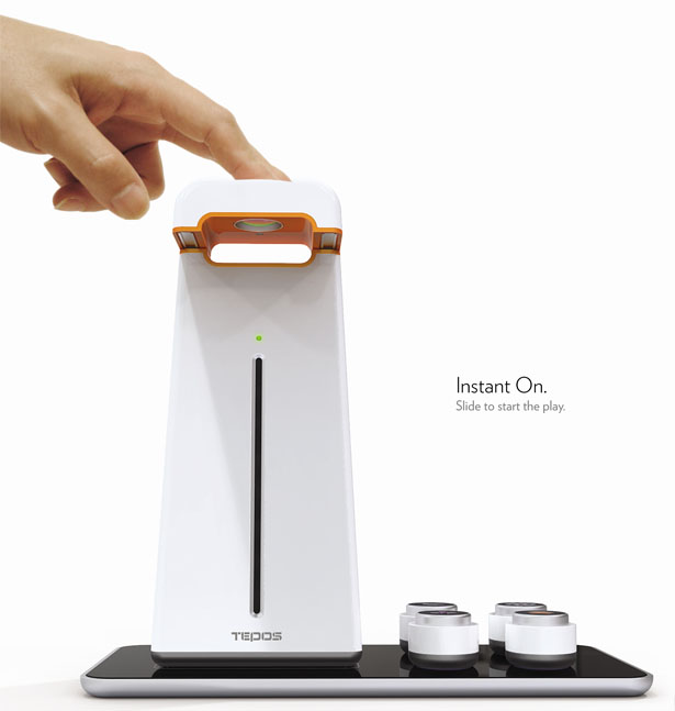 TEPOS Tangible Entertainment Projection System for Seniors