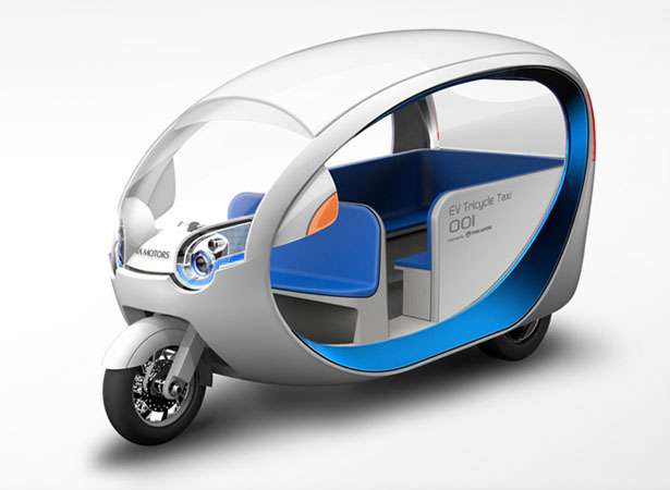 Terra Motors eTricycle Is Our Next Generation of Electric Tuk Tuk