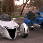 3-Wheeled TerraCraft Motorcycle Concept by TerraCraft Motors