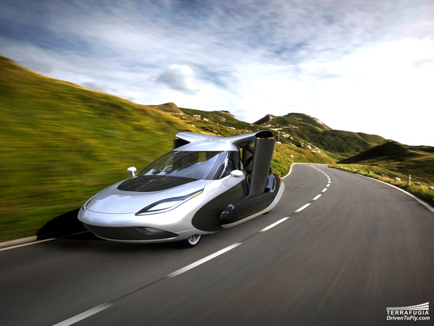 Terrafugia TF-X Hybrid Electric Flying Car