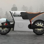 Tesla e-Bike : An Electric Motorcycle Design Proposal for Tesla Motors
