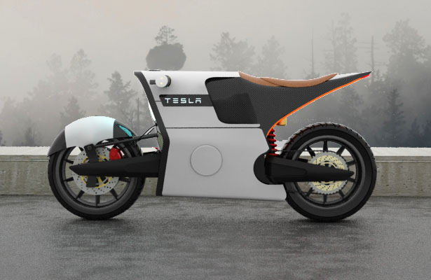 Tesla e-Bike by Antonio Serrano