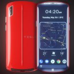 Tesla Model P Smartphone Concept Proposal for Elon Musk