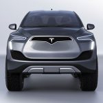 Pickup Model M Concept Proposal for Tesla by Emre Husmen
